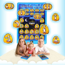 Morning and learn prayer wordship learning machinemini pad,Islamic TOY For Muslim Kids,Arabic&English 2 language(China)