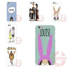 Soft TPU Silicon Custom Phone bob is burgers lovely For iPhone 4S 5S SE 6S 7S Plus For Galaxy A3 A5 J3 J5 J7 S4 S5 S6 S7 2016