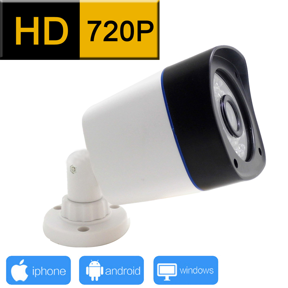 1280*720 ip camera 720P outdoor waterproof cctv security system surveillance webcam video infrared cam home camara p2p hd jienu(China (Mainland))