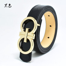2017 Top quality PU childrens belts brand design children's waist belts for pants trousers boy's jeans belt metal buckle #656