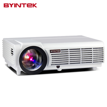 BYINTEK Brand BT96 Projector Wifi Android HDMI USB Smart 1280x800 WXGA HD 1080P Home Theater Digital LED LCD Video Projector