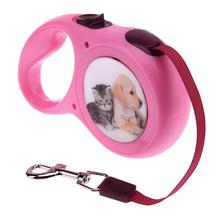 Automatic Retractable Dog Leashes Small Dogs Walking Lead Leashes Puppy Animals Traction Pet Dog Products Supplies(China)