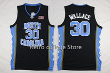 #30 Rasheed Wallace North Carolina Tar Heels College Retro throwback College Cheap Basketball Jersey