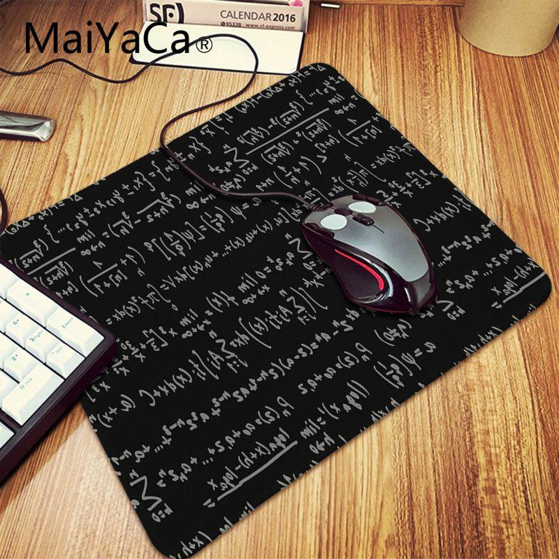MaiYaCa Boy Gift Pad Geometric formula mouse pad gamer play mats Large Gaming Mouse Pad Lockedge Mouse Mat Keyboard Pad 9
