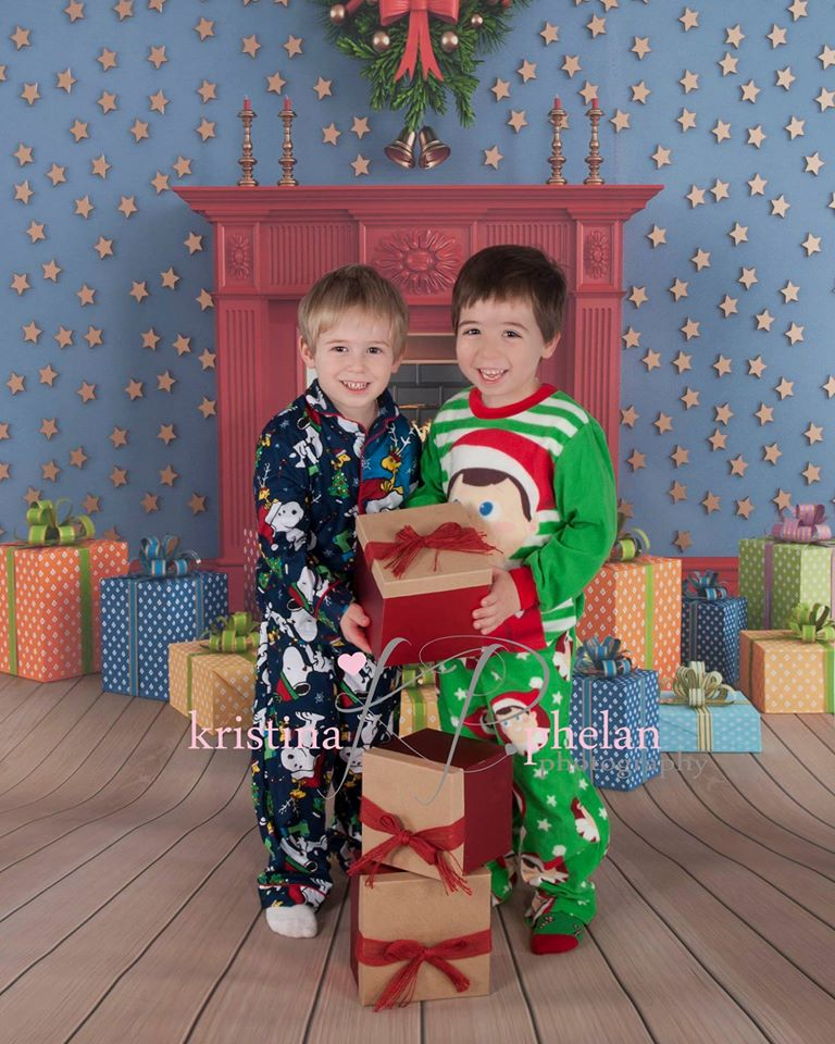 10x10ft free shipping Christmas backdrops Customized computer Printed vinyl photography background  for photo studio  st-251<br>