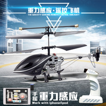 new777-290 2.4g 3CH Gravity induction rc i-helicopter Realistic Sensing control mini Remote Control Helicopter children toy gift(China)