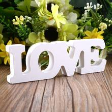 "Wooden Letter Alphabet Word Free Standing Home Decor ""LOVE"" Theme Creative"