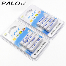 8pcs 1100mAh 1.2v AAA rechargeable battery for LED light Toy placement battery for camera MP3 mp4 microphone