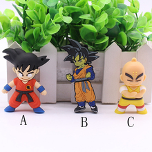 Free shipping USB Flash Drive 64GB Flash Memory 8GB 16GB 32GB Cartoon Dragon Ball SON GOKU USB 2.0 Flash Disk Pen Drives
