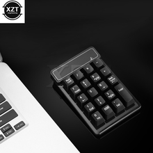 19 Keys 2.4G Wireless Keyboard USB Numeric Keypad Mini Digital Keyboard Ultra Slim NumberPad for Compute PC Laptop(China)