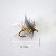 JR-0015 Style Insect Fly Fishing Lure Artificial Fishing Bait Feather Single Treble Hooks Carp Fish Lure Water surface(China)