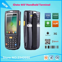 Rugged Data Gathering Data Collection PDA 1D 2D Barcode Scanner Android4.4 quad-core 1.2 GHz Cost Effective Mobile Terminal  PDA