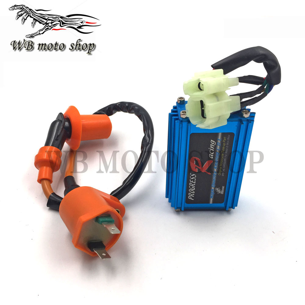 RACING Ignition Coil  For GY6 4 stroke Air-coolling Scooters ATV Quad 50cc-150cc