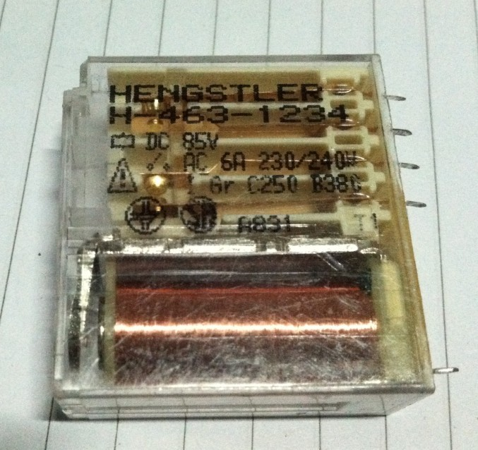 Relay H-463-1234 85VDC<br>