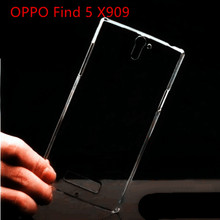 0.5mm for OPPO find 5 x909 5.0INCH Super Transparent TPU Soft Cover Cover Case for OPPO find 5 x909  Phone Case bag