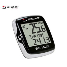 SIGMA BC 16.12 Waterproof Bicycle Speedometer Road Bike Computer Mountain Bike Wire Odometer Cycling Odograph