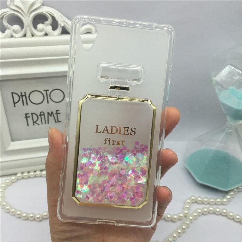 Dynamic Liquid Glitter Quicksand Case Colorful Diamond Print Cover for Sony Xperia XA Ultra / C6 F3211 F3212 Mobile Phone Cases