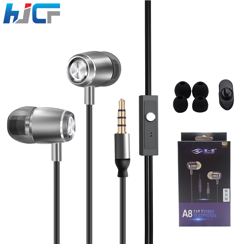 Quality Wired Earphone In-Ear Headphones With Microphone HD Sound Hifi Headset For iPhone Xiaomi Samsung MP3 <br><br>Aliexpress