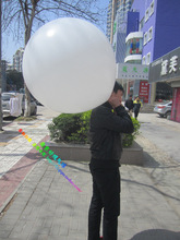 [ Fly Eagle ] FREE SHIPPING 10PCS/BAG 27INCH BIG SIZE VARIOUS  LATEX ADVERTISING BALLOONS PARTY SUPPLIES WHITE
