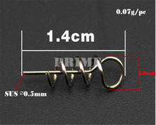 Fishing lock pin Soft Lures Pin Spring Fixed Lock Fishing Screw Fishing Tools Trulinoya Fishing Tackle