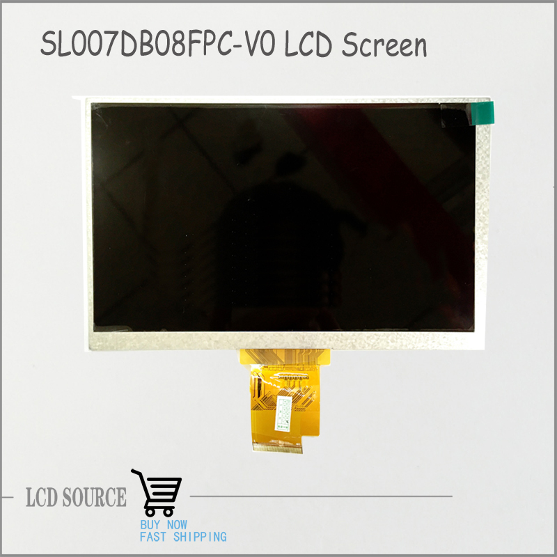 Free Shipping SL007DB08FPC-V0 TFT LCD Display Panel Tablet PC Replacement Parts<br>