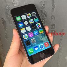 "Unlocked Original iPhone 5S Mobile Phone Dual Core 4"" IPS 8MP WIFI GPS 3G iPhone5s Cellphones Used(China)"