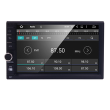 HD 1024X600 2Din Quad Core 1.6GHz CPU 1GB ROM 16G Flash Android 5.1.1 Car DVD GPS Navigation Player Stereo Radio 2 Din Universal