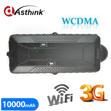 Car Gps Tracker 3g Wcdma 10000mah Battery Magnet 3g Gps Car Vehicle Tracker Gps+gsm+wifi Positioning Offline Logger