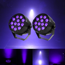 2017 Hot Sale 2PCS 36W 12 LED Stage Par Light Sound Active Lamp for KTV Party DJ Disco Show Holiday Party Free Shipping(China)