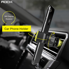Car-styling holder, ROCK Adjustable Bracket car styling Mobile Phone holder socket Vent Holder car phone stand for iPhone/Androi