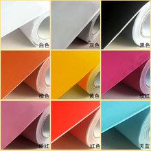 plain pearl finish water proof PVC self adhesive for kitchen cabinet  home decoration wall sticker