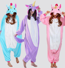 Unisex Adult Unicorn Costume Sleepwear(China)