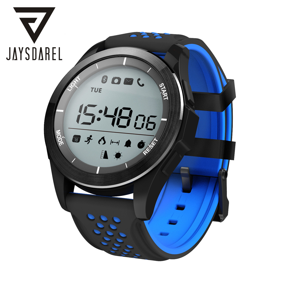 JAYSDAREL NO.1 F3 Smart Watch IP68 Waterproof Sleep Monitor Pedometer Sport Fitness Smart Wristwatch for Android iOS<br>