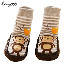 Baby Socks Anti Slip Cotton Newborn Winter Wear Cartoon Cute Toddler Children Shoes Rubber Soles Kid Meias Infantil Nice