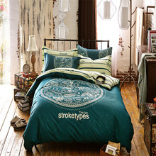 Illucity jan stroke type bedding doona/duvet cover set,queen,double,full,single size bed linen set,3/4pcs