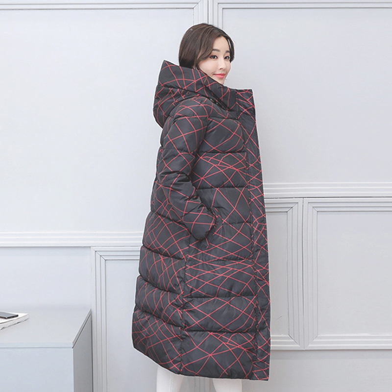 2017 NEW HOT SALE WOMEN WINTER JACKETS X-LONG COAT THICKEN COTTON PADDED SLIM WARM FEMALE PARKAS HIGH QUALITY STAND COLLAR ZL378Îäåæäà è àêñåññóàðû<br><br>
