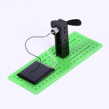 Creative Solar Cells Experiment Toy DIY Assembling Solar Power Toy Educational Toy for Preschool Kids Students Children DIY Gift
