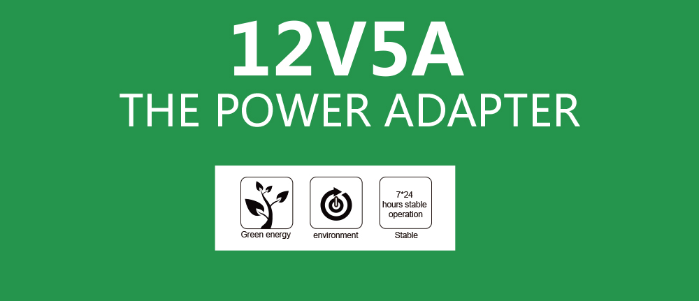 12V5A 12V 5A AC100V-240V 60W LED power adapter LED light Power Supply Adapter Transformer for Imax LED strip 5050 2835 real 5A
