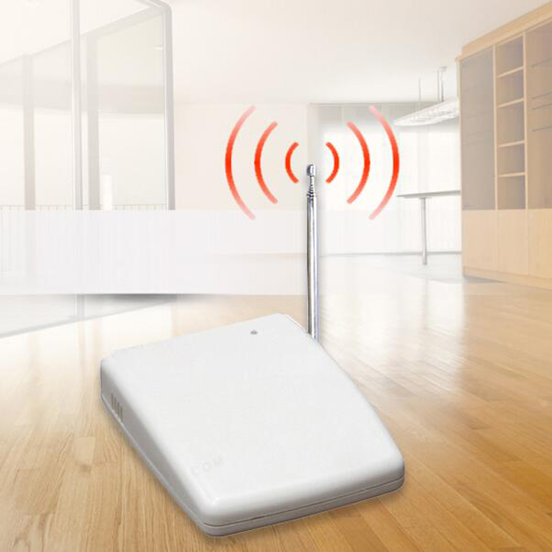 Wireless Signal Repeater Transmitter Enhance Sensros Signal 433MHz work with Alarm System<br>