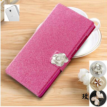 For Alcatel One Touch Pixi First 4024D Case Luxury PU Leather Case Cover For Alcatel 4024D Flip Protective Cell Phone Cover
