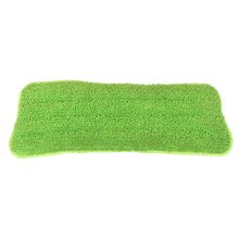 Replacement fiber Washable Mop head Fit Flat Spray Mops Household Cleaning Tools(Green)