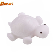lamp battery powered led color change Christmas Nightlights Turtle Christmas Decor LED Night Light Lamp nightlight children's(China)