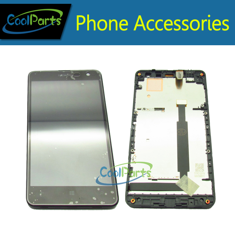 Black Replacement Part For Nokia Lumia 625 N625 LCD Display and Touch Screen Digitizer With Frame Free Shipping 1PC/Lot<br><br>Aliexpress