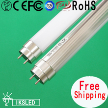 10pcss/slot free shipping 1500mm T8 led tube 22W 2200LM  fedex 3 year warranty AC85~265V aluminum medal cap