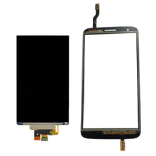 Buy LG Optimus G2 D802 D805 Touch Screen Digitizer Sensor Glass Panel + LCD Display Monitor Panel Screen for $11.80 in AliExpress store