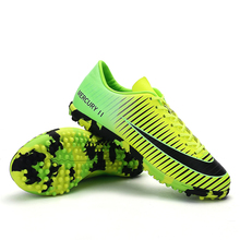 Broken Nails Football Shoes Men Turf Soccer Shoes Men Training TF Soccer Cleat High Quality Sneakers Outdoor Lawn Football Boots