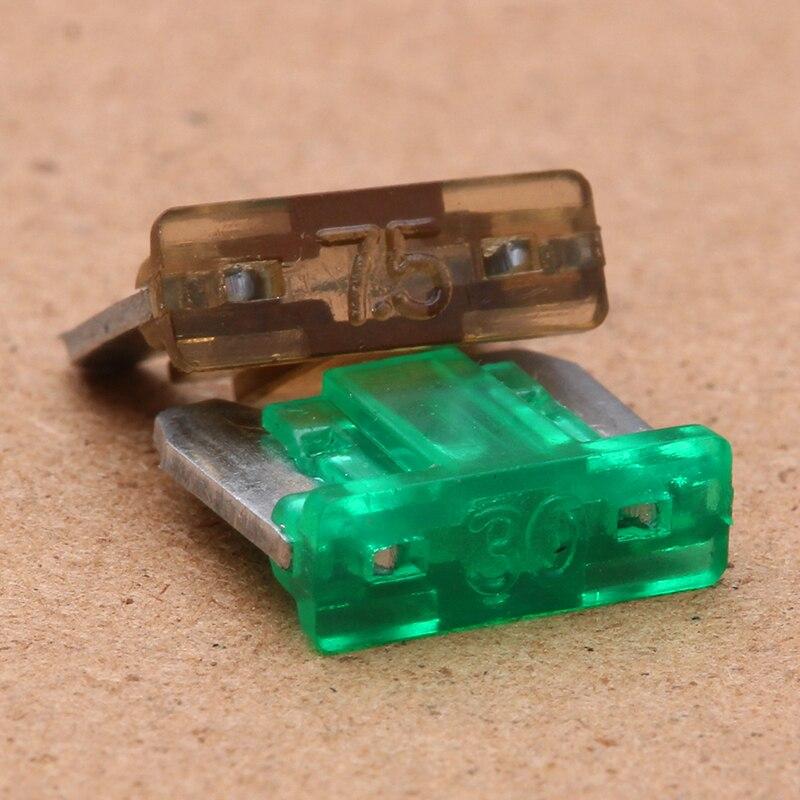 Automobile Mini lame fusibles assortis Qté 60 7.5 10 15 20 25 30 AMP 10 de chaque