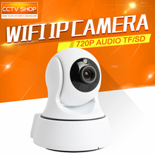 HD 720P 1.0MP WIFI PTZ IP Camera IR-Cut NightVision Two Way Audio CCTV Security Smart Cameras Wireless P2P Cloud View Indoor Use(China)