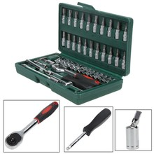 Home Car Repair Tool Sets Combination Tool Wrench Set Batch Head Ratchet Pawl Socket Spanner Screwdriver car repair tool set(China)