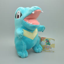 "Free Shipping Totodile 6.5"" Anime Stuffed and Plush Dolls Soft Kids Children's Toys Gifts(China)"